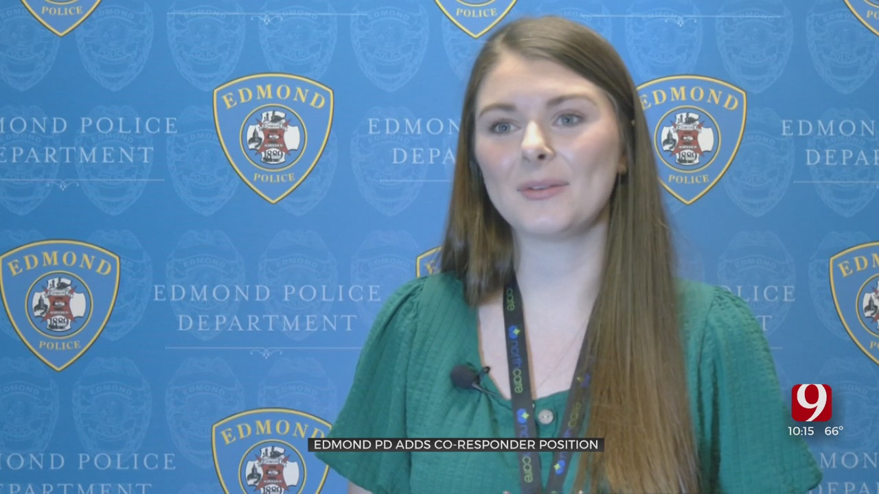 Edmond PD Hires Co-Responder To Help With Mental Health Calls