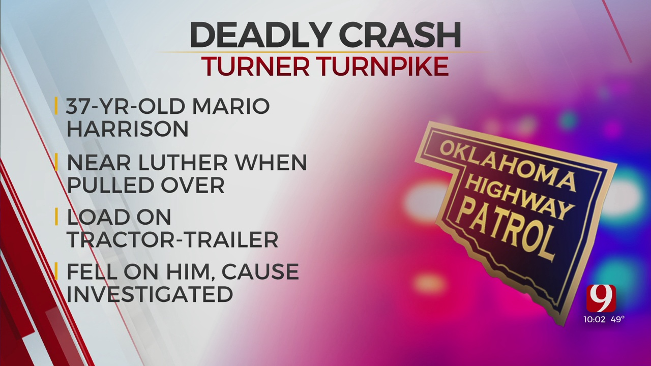Man Dies After Incident Along Turner Turnpike