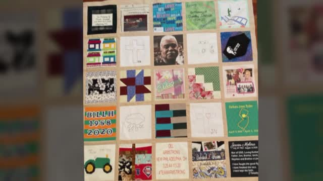 California Teen's Quilt Keeps Memory Of COVID Victims Alive
