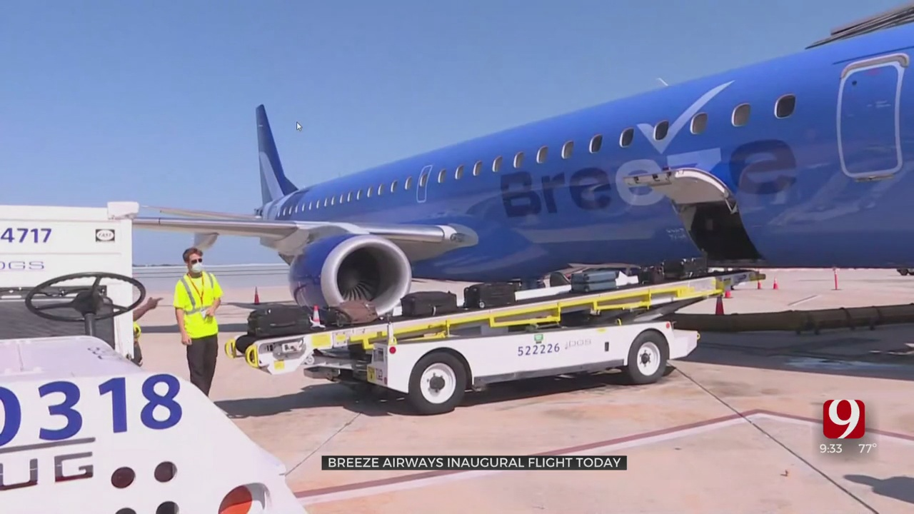 Breeze Airways Debuts New Flights Out Of WRWA