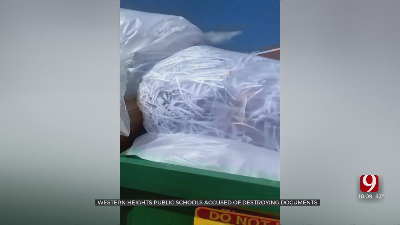 Western Heights Public Schools Accused Of Destroying Documents