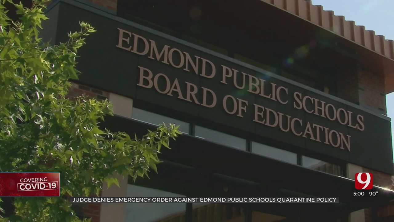 Judge Denies Temporary Restraining Order Proposed By Parents Of Edmond Students