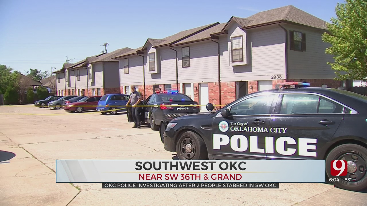 OKC Police: 1 In Custody After Double Stabbing