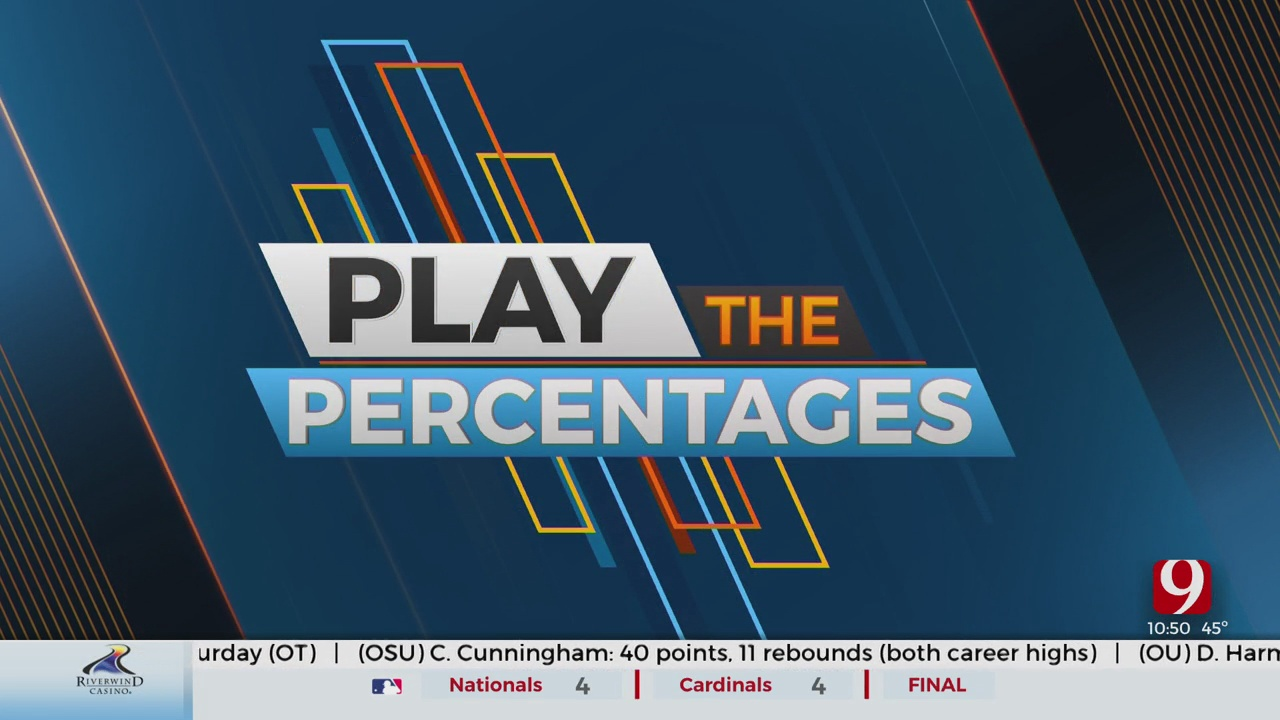 The Guys End The Show By Playing The Percentages