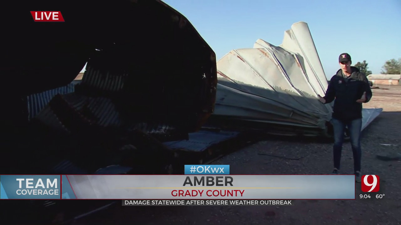 Team Coverage: Storm Damage in Amber