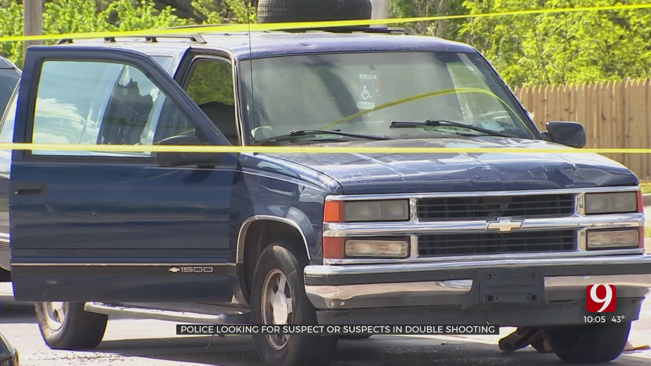 Police Search For Suspects In NE OKC Double Shooting