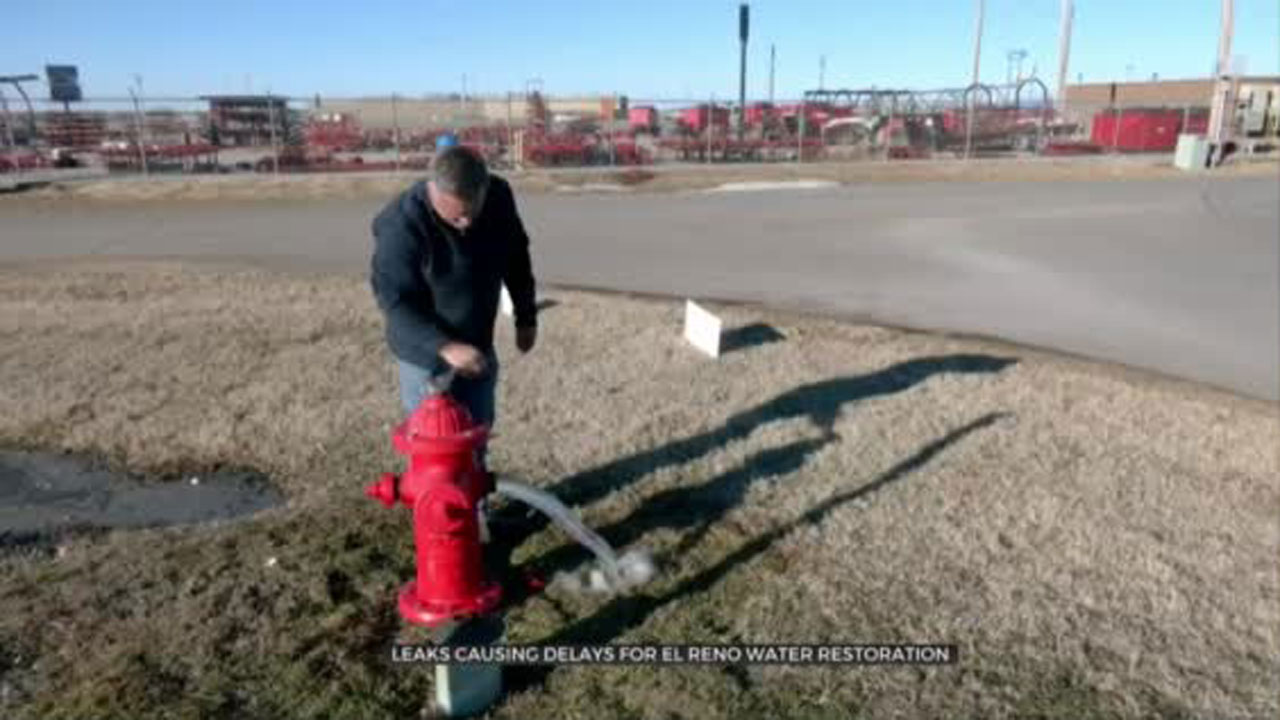Leaks Cause Delays For El Reno Water Restoration