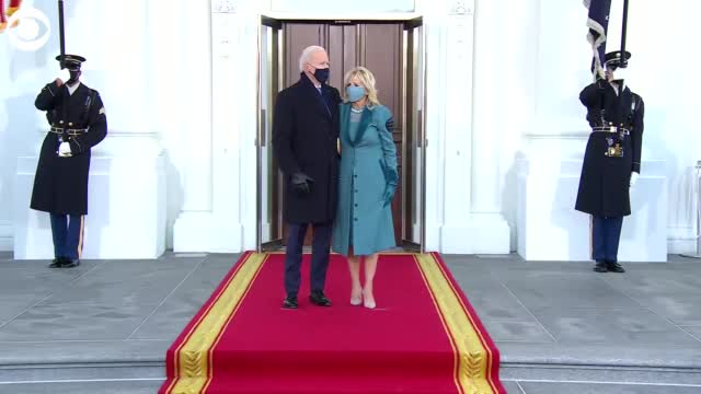 First Family Enters White House For the 1st Time On Inauguration Day
