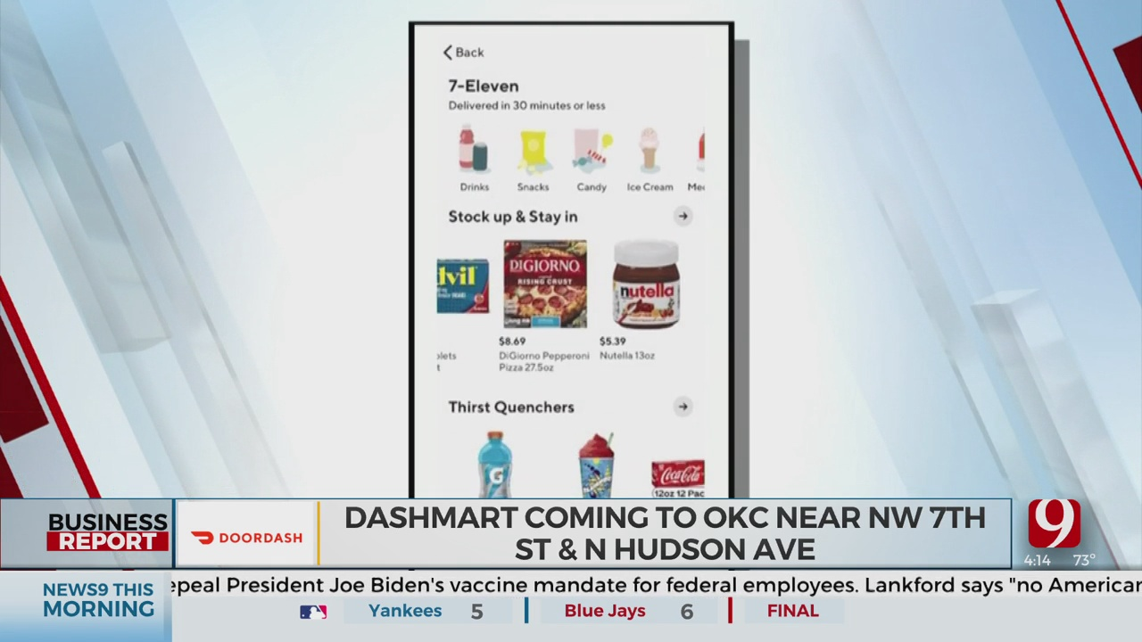 DashMart Set To Open In The OKC Metro