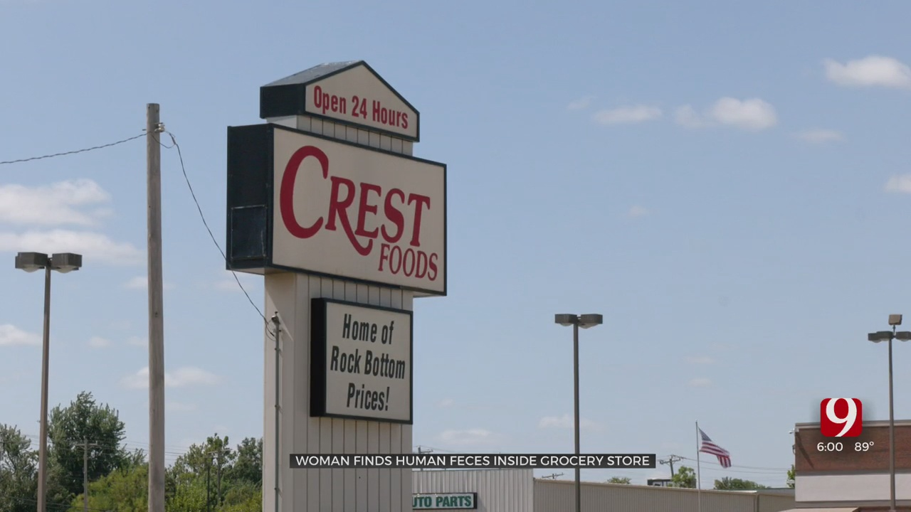 Woman Finds Human Feces While Shopping Inside Moore Grocery Store