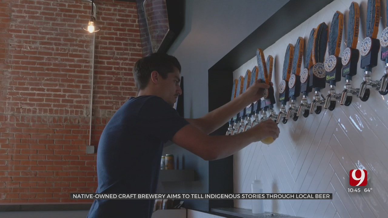 Automobile Alley Welcomes OKC's First Native American Brewery