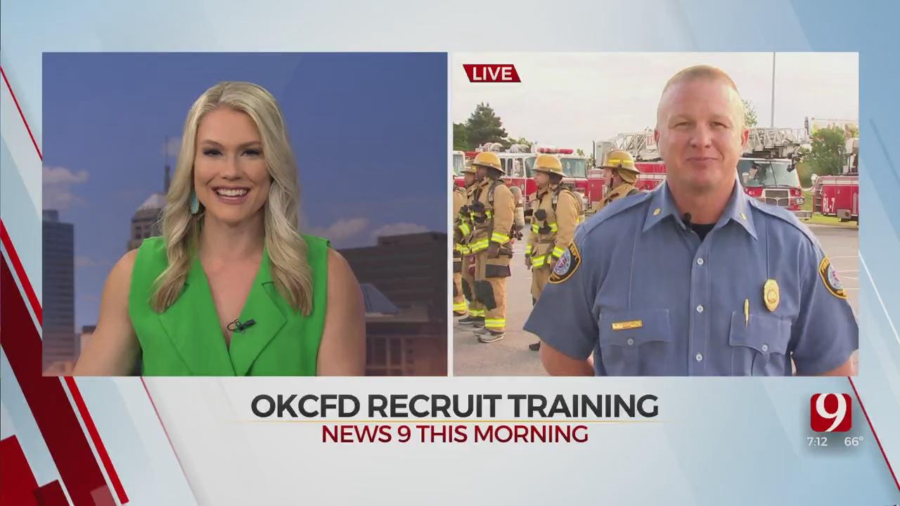 OKC Fire Recruits Begin 24 Hour Training Day