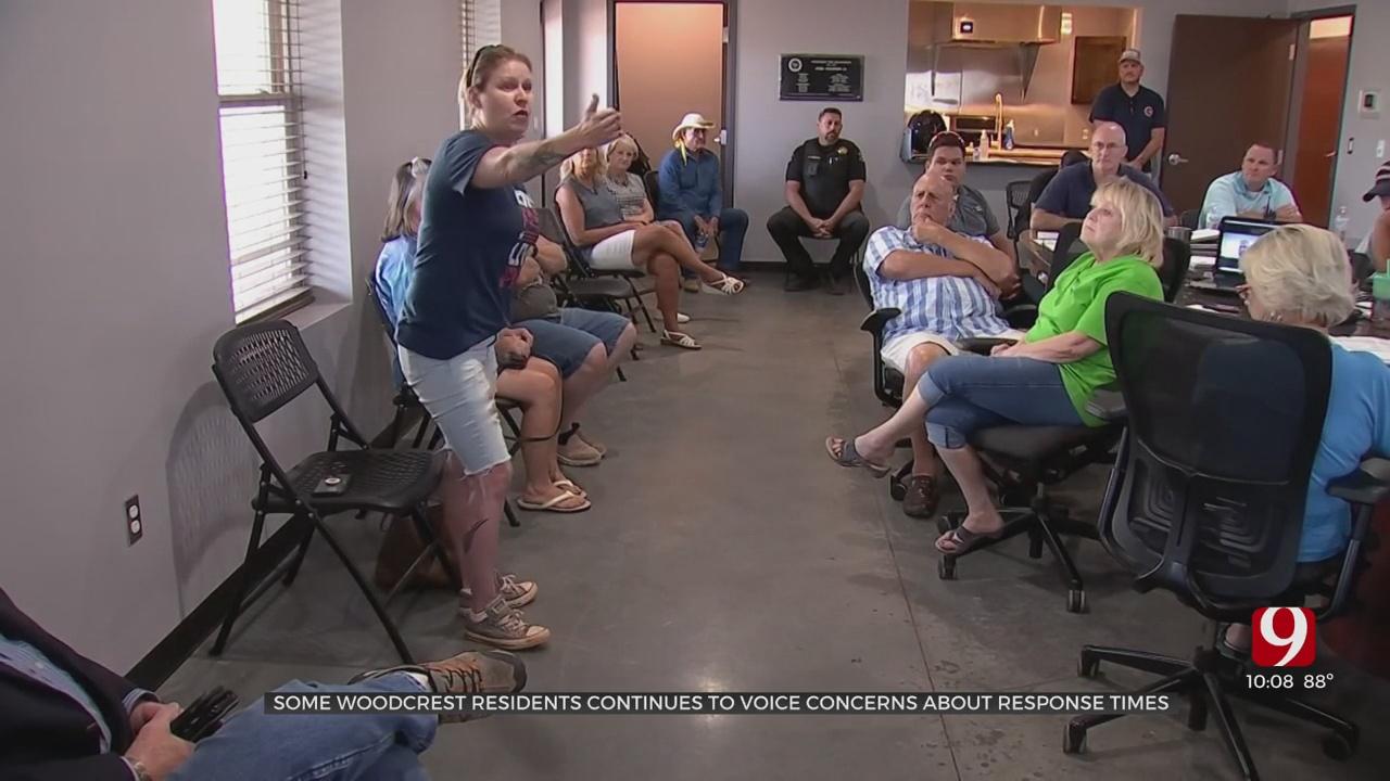 Community Members Address Volunteer Fire Department's Lack Of Response To Calls