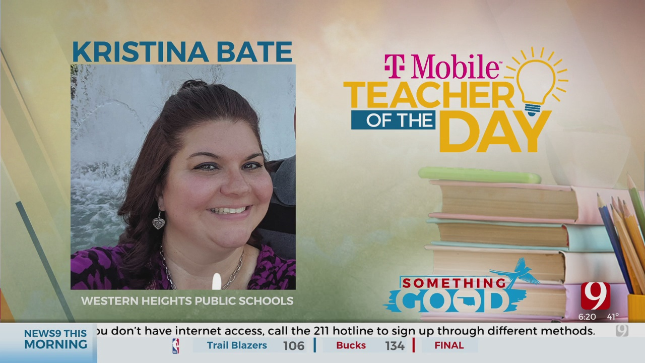 Teacher Of The Day: Kristina Bate