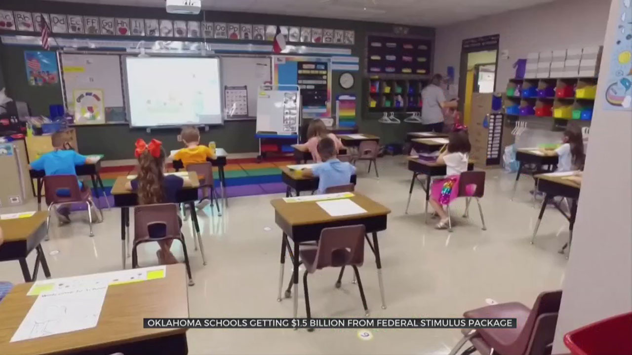 Okla. Schools Getting $1.5  Billion From Federal Stimulus Package
