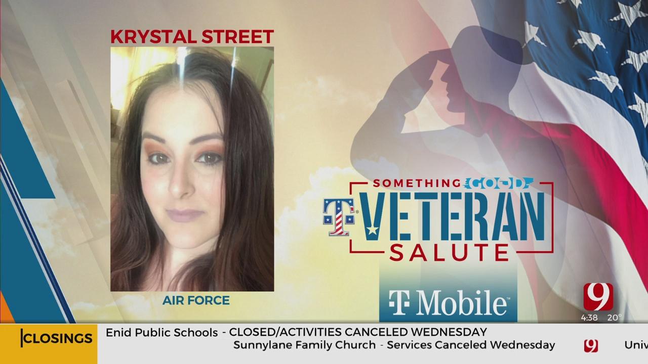 Veteran Salute: Krystal Street