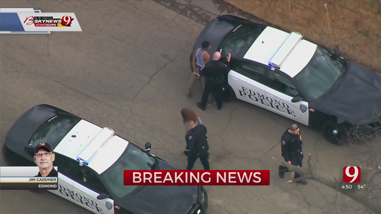 Police: All Suspects In Custody After Pursuit, Search In Edmond Neighborhood