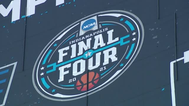 Largest March Madness Bracket Now On Display In Indianapolis