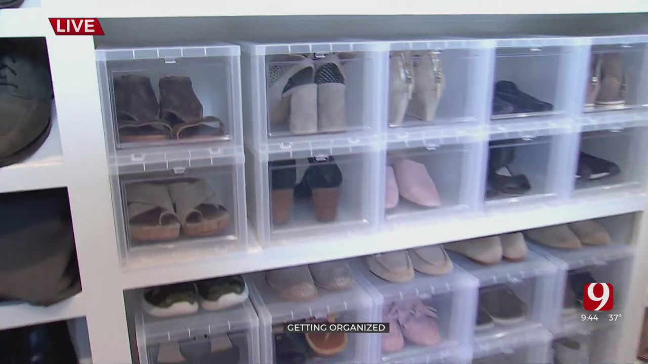 Getting Organized: Closets