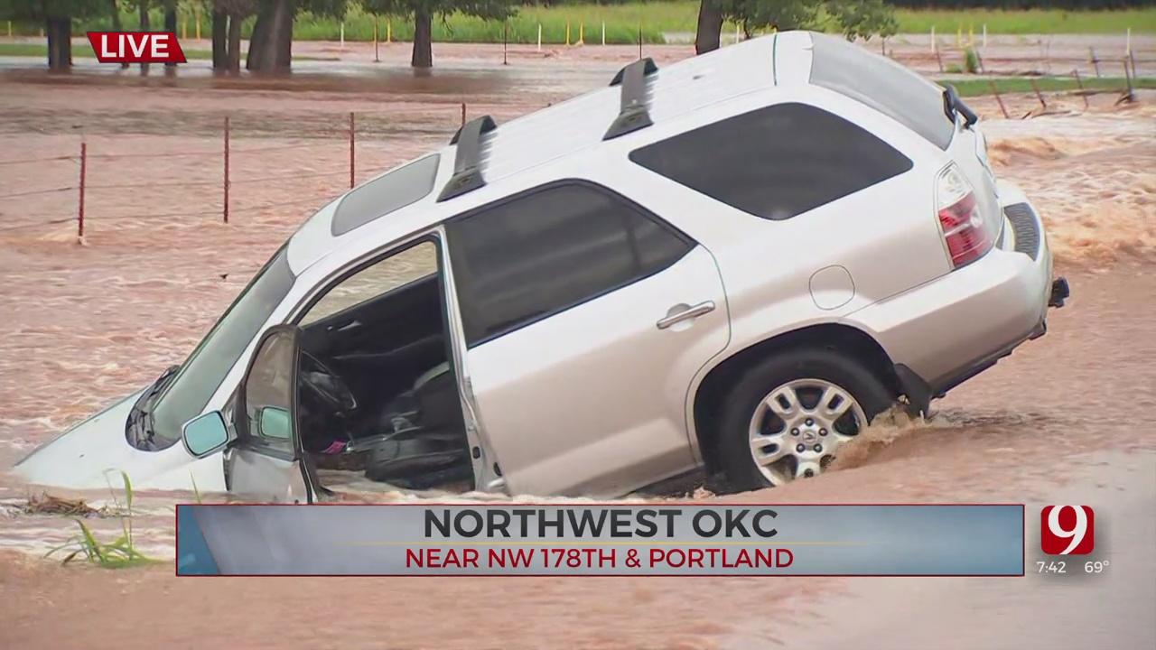 Flooding Risk Remains High For Oklahoma County Through Sunday