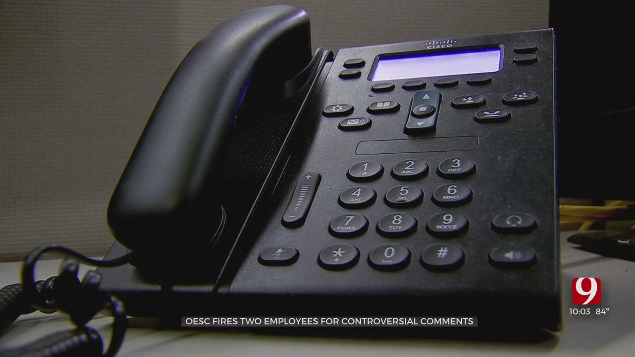 2 OESC Employees Fired After Racially Insensitive Comment During Phone Call