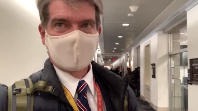 WATCH: Alex Cameron Reports From House Office Building