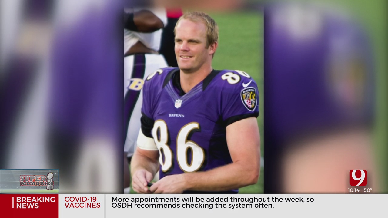 Former OSU Cowboy, Retired Tight End Billy Bajema Recounts Ravens' Bowl Win Against 49ers In Super Bowl 47