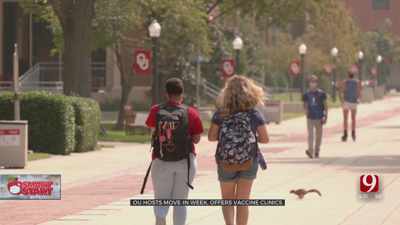 OU Hosts Vaccination Clinics For Students Moving On Campus