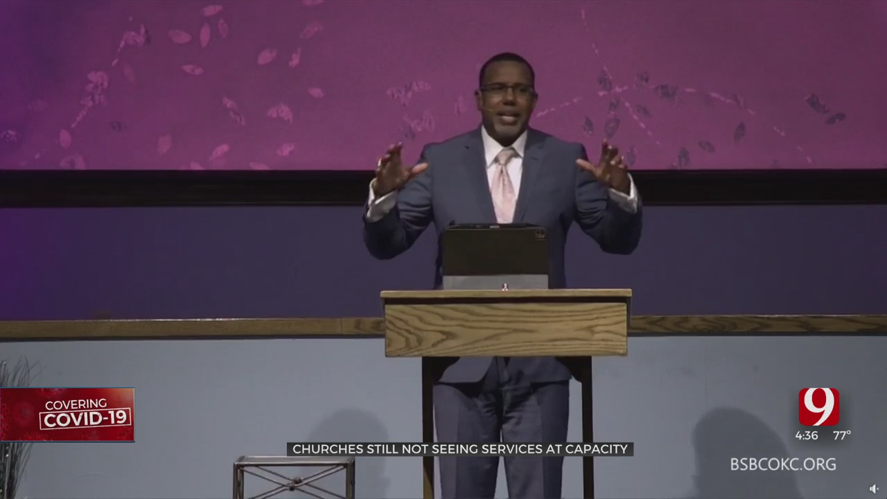 OKC Pastors Say In-Person Church Attendance Down Due To Pandemic