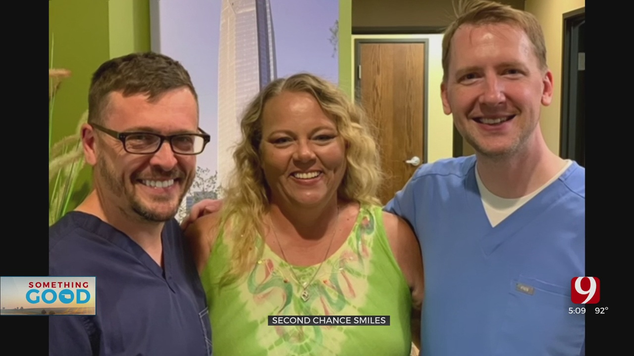 OKC Doctors Give Community Members 'Second Chance' Smiles