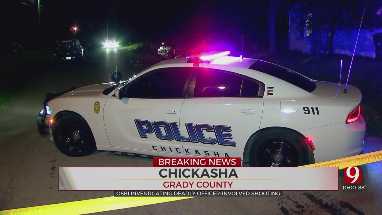 OSBI: 1 Person Killed After Standoff, Shooting Involving Officers In Chickasha