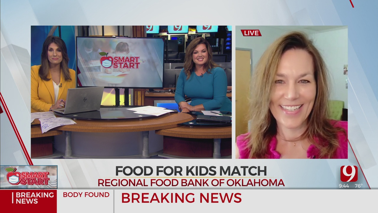 WATCH: Regional Food Bank Of Oklahoma Talks About Food For Kids Match Program