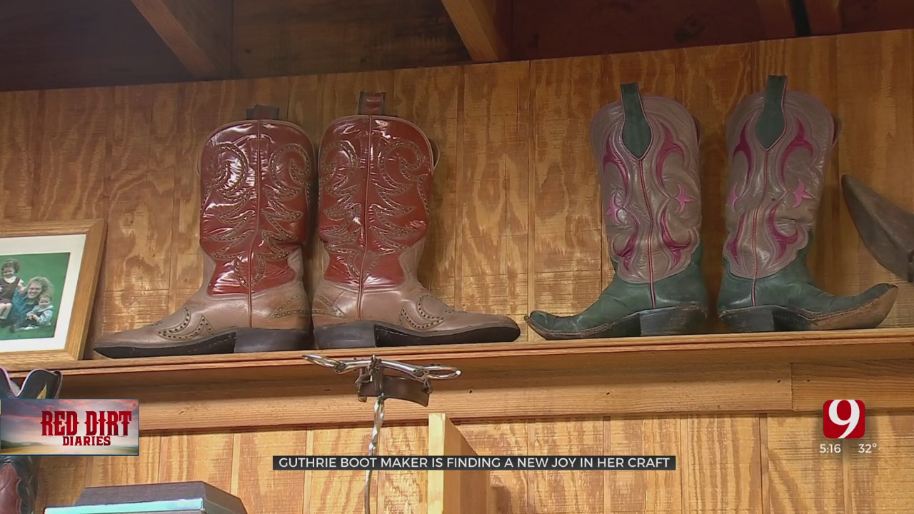 Guthrie Boot Maker Finds A New Joy In Her Craft