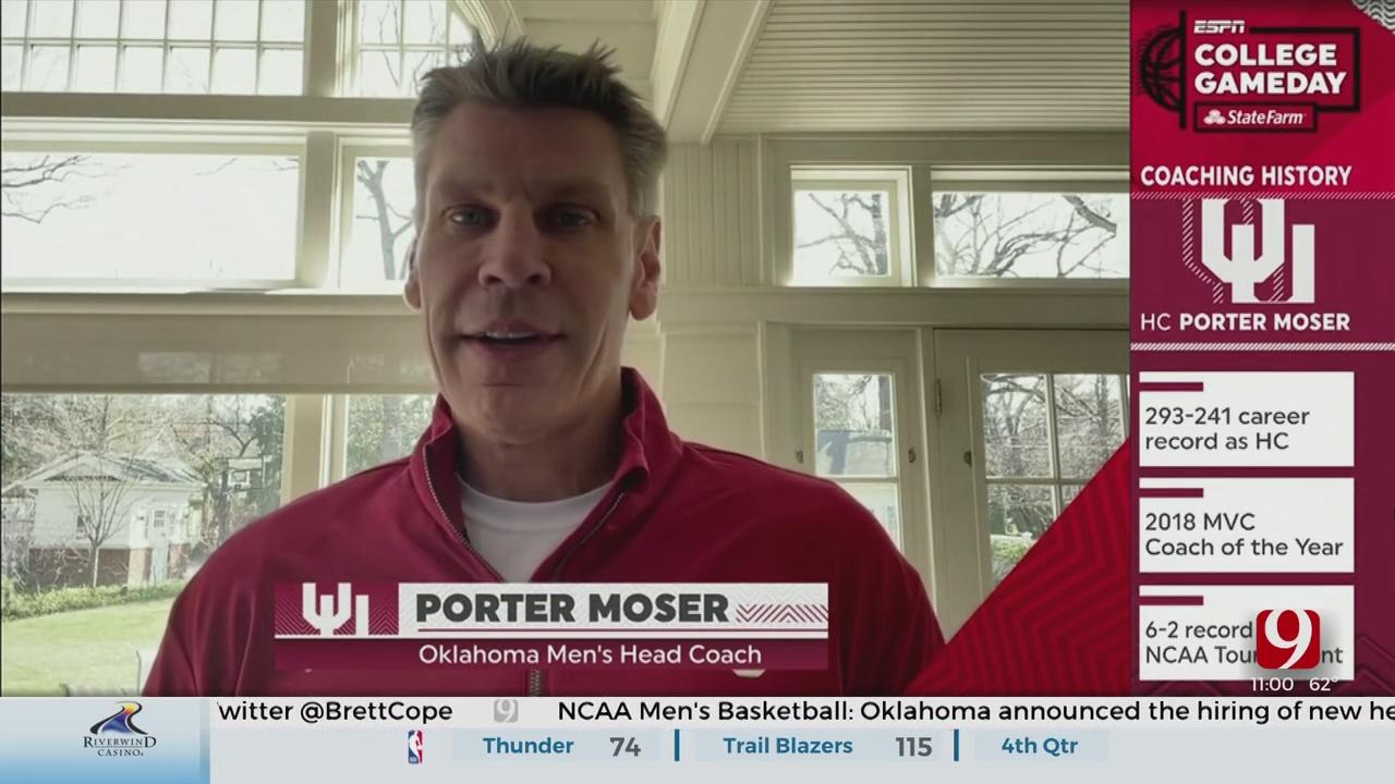 Porter Moser Officially Named New OU Men's Basketball Coach