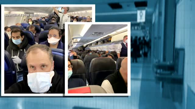 'It's Really The New Flying Etiquette': JetBlue Among Airliners Requiring Face Masks On Flights