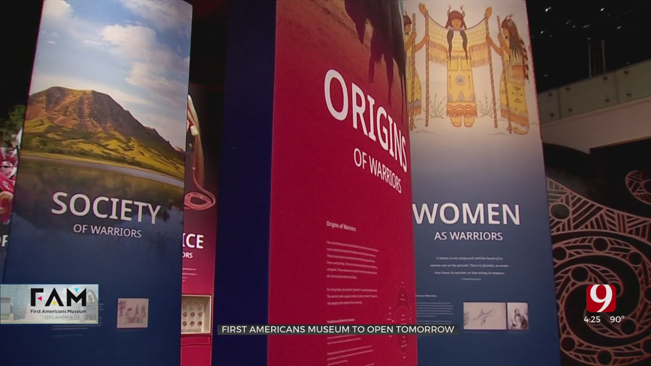 OKC Mayor David Holt On Opening Of First Americans Museum