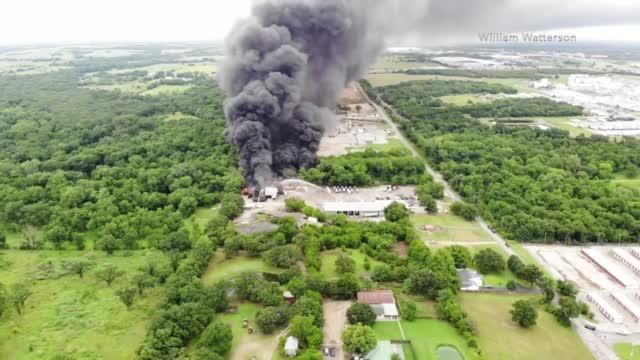 Ardmore Asphalt Plant Fire