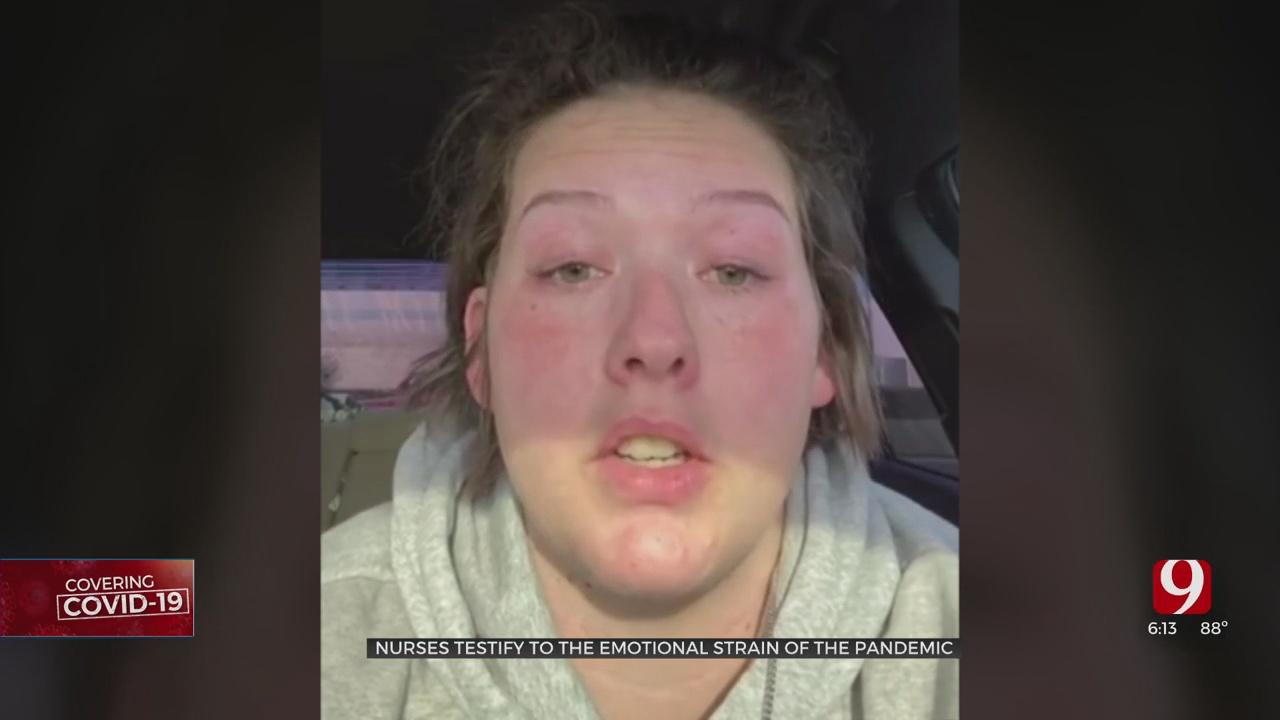 'I'm Struggling': Oklahoma Nurses Speak On Emotional Strain Of COVID-19 Pandemic