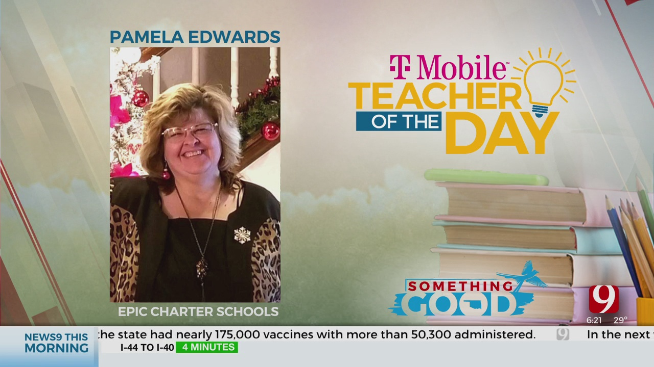 Teacher Of The Day: Pamela Edwards