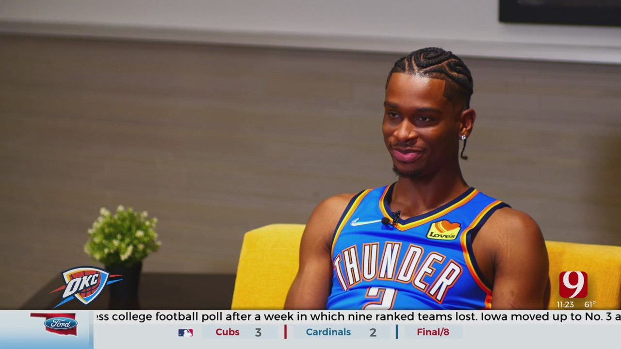 Thunder Report: 1-On-1 With Shai Gilgeous-Alexander