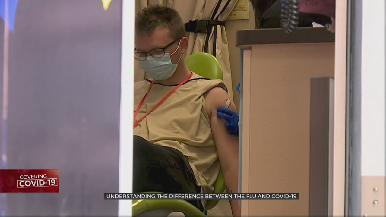 Experts Warn Against Comparing The Flu And COVID