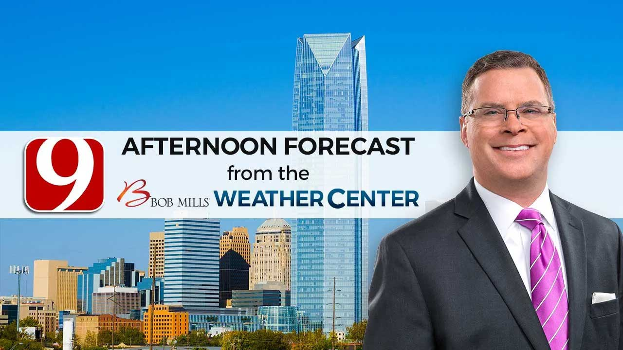 Monday Afternoon Forecast With Jed Castles