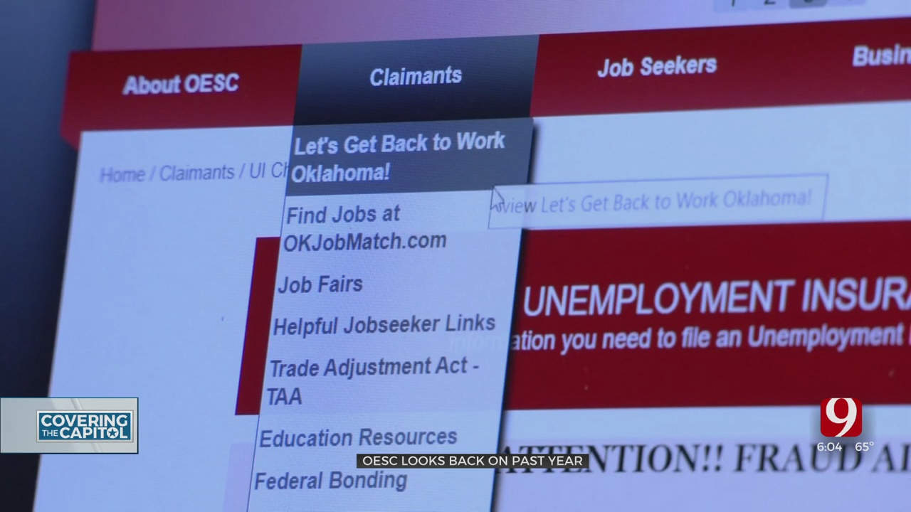 One Year After Mass Unemployment, Oklahoma Claims Top $5 Billion
