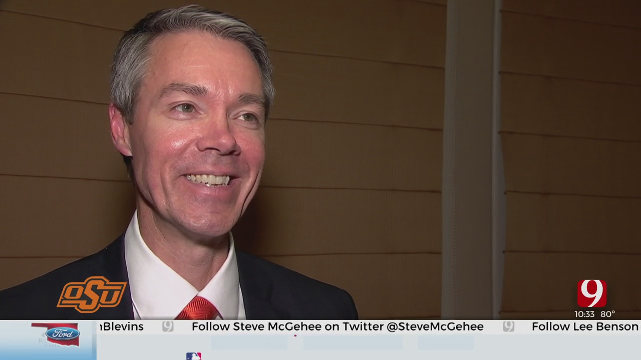 Oklahoma State Introduces New Athletic Director Chad Weiberg