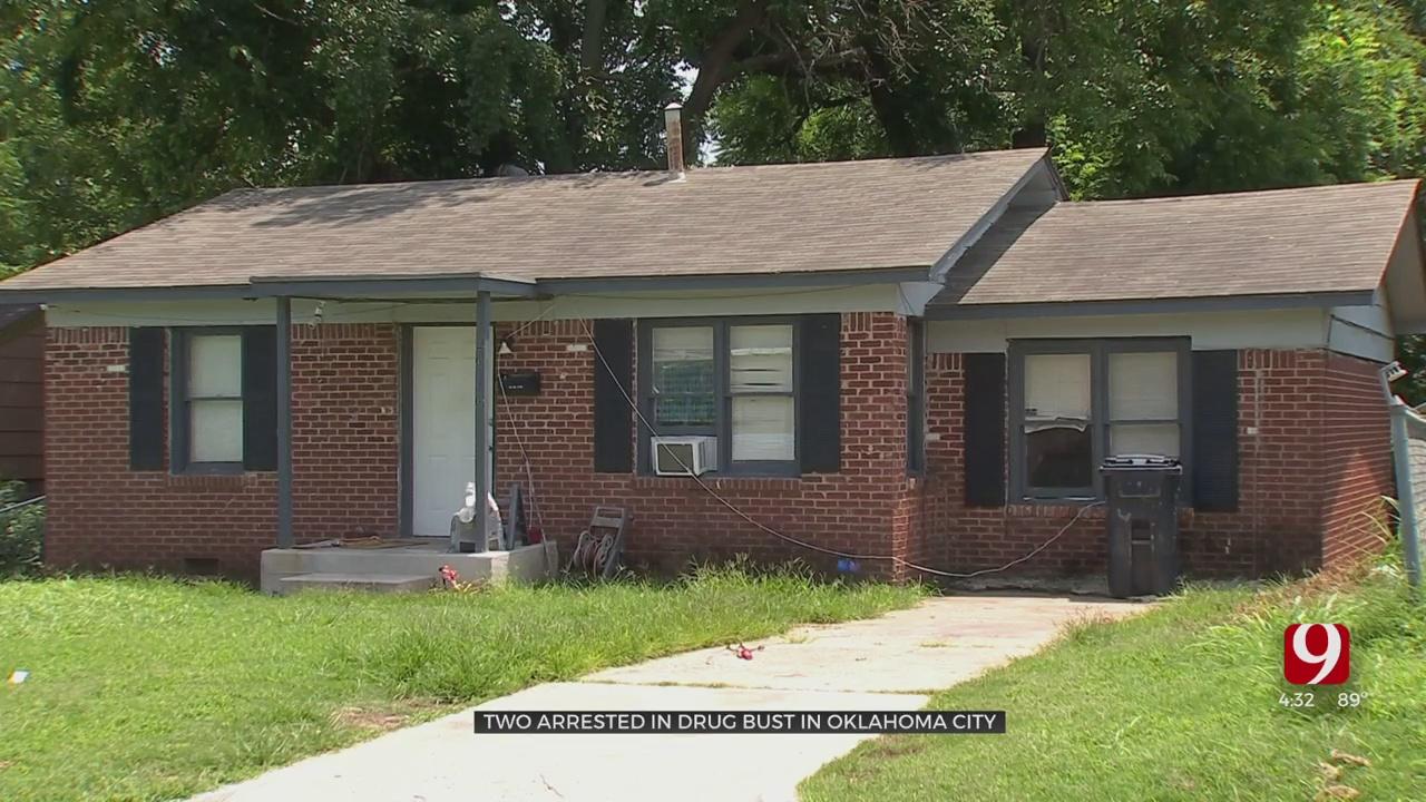 2 Arrested After Officers Find Drugs, Guns In NE OKC Home