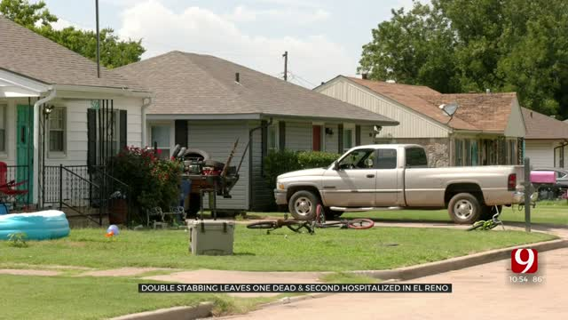 El Reno Police: 1 Dead, Another Hospitalized After Stabbing