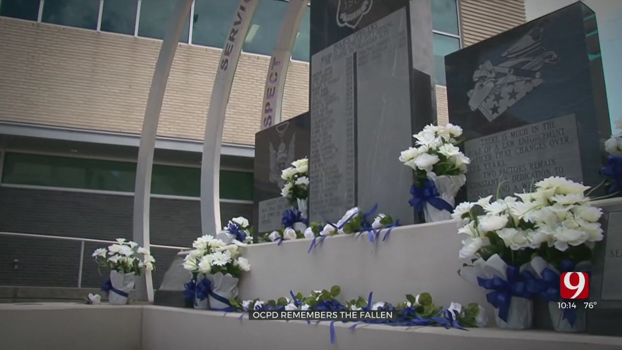 WATCH: Oklahoma City Police Remember Fallen Officers