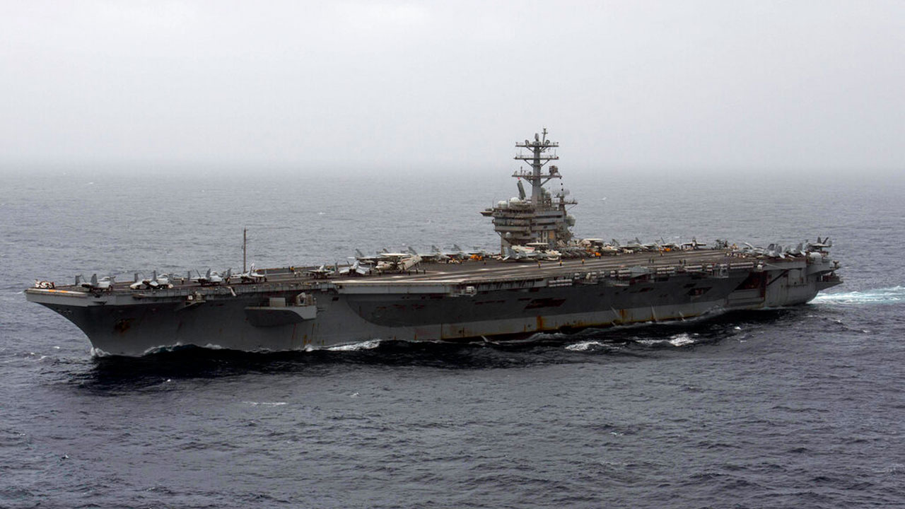 US Keeping Aircraft Carrier USS Nimitz In Persian Gulf