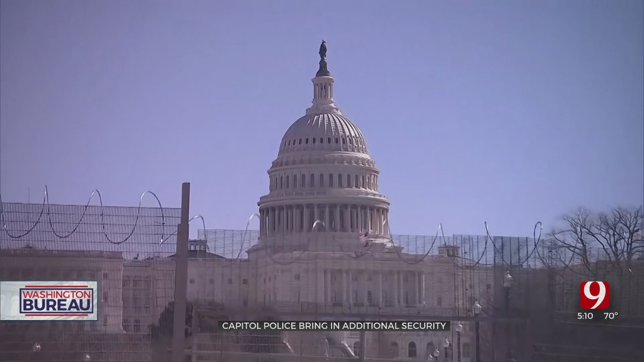 Capitol Police Bring In More Security Ahead Of Possible Plot Thursday