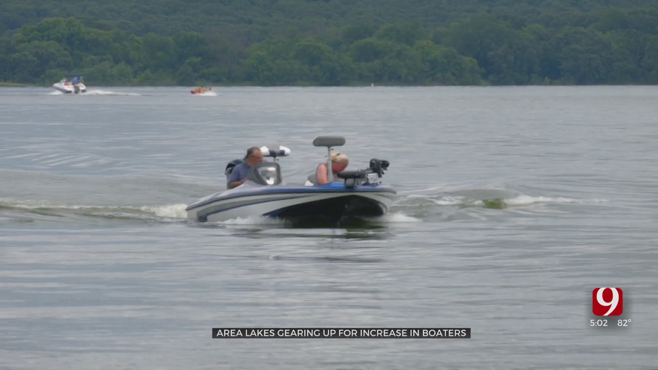 OHP Prepares For Influx Of Boaters As Flooding Closes Arcadia Lake